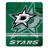 Dallas Stars Fleece Throw Blanket